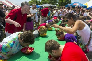 Festa Italia - Pasta Eating Contest